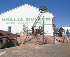 Gwalia Historical Museum Logo and Images