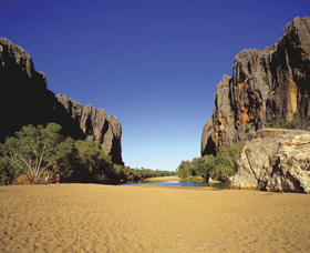 Windjana Gorge National Park Logo and Images