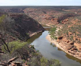 Loop Walk, Kalbarri National Park Logo and Images