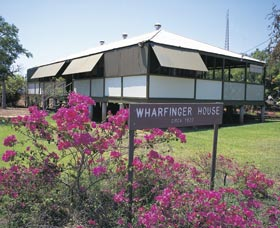 Wharfinger's House Museum Logo and Images