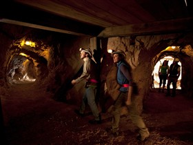 Heritage Blinman Mine Tours Logo and Images