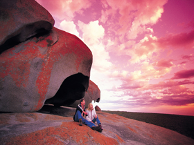 Remarkable Rocks, Flinders Chase National Park Logo and Images