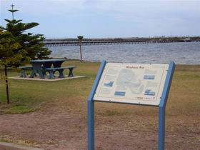 Port Broughton Historic Walking Trail Logo and Images