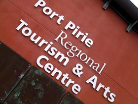 Port Pirie Regional Tourism And Arts Centre Logo and Images