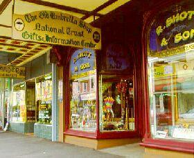 Old Umbrella Shop Logo and Images