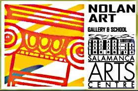 Nolan Art Gallery and School Logo and Images