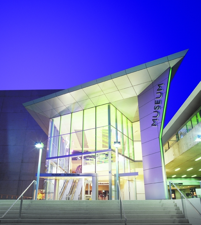 Queensland Museum and Sciencentre Logo and Images