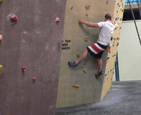 Canberra Indoor Rock Climbing Logo and Images