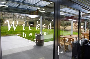 The Wicked Cheese Company Logo and Images