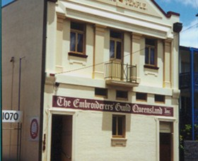 Embroiders Guild Queensland Incorporated Logo and Images