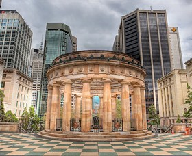 ANZAC Square War Memorial Logo and Images