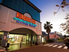 Runaway Bay Shopping Village Logo and Images
