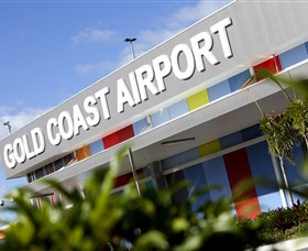 Gold Coast Airport Logo and Images
