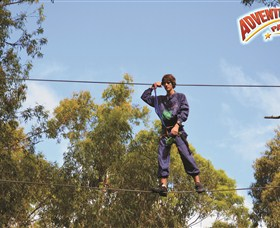Adventure Parc at Currumbin Wildlife Sanctuary Logo and Images