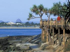 Caloundra Coastal Walk Logo and Images