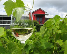 Flame Hill Vineyard Logo and Images