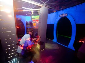Laserzone Sunshine Coast - Warana Logo and Images