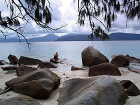Summit Track, Fitzroy Island National Park Logo and Images