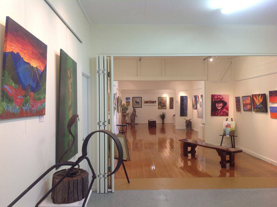 Wondai Regional Art Gallery Logo and Images