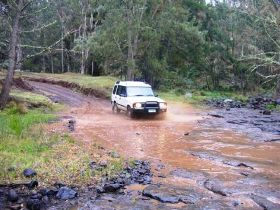 Condamine Gorge '14 River Crossing' Logo and Images