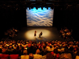 Riverway Arts Centre Logo and Images