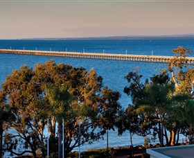 Urangan Pier Logo and Images