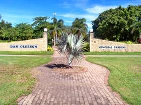 Dan Gleeson Memorial Gardens Logo and Images