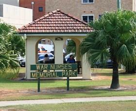 Bundaberg War Nurses Memorial and Park Logo and Images