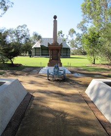 Mitchell War Memorial Logo and Images