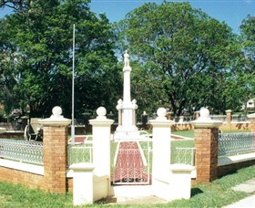 Boonah War Memorial and Memorial Park Logo and Images