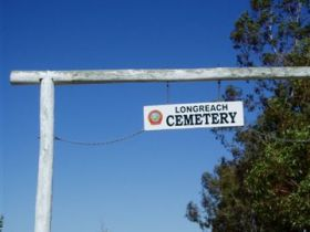 Longreach Cemetery Logo and Images