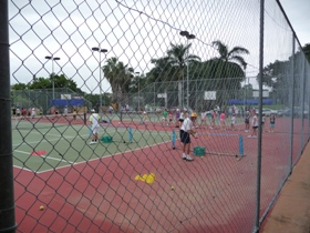 Townsville Tennis Centre Logo and Images