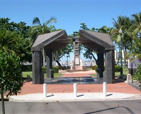 The Strand Park Townsville War Memorial Logo and Images