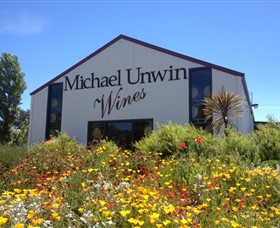 Michael Unwin Wines Logo and Images