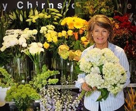 Judy Chirnside Flowers Logo and Images