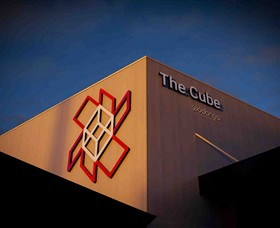 The Cube Wodonga Logo and Images