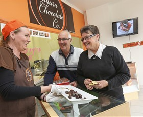 Mildura Chocolate Company Logo and Images