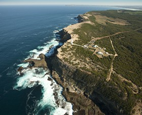 Cape Nelson State Park Logo and Images