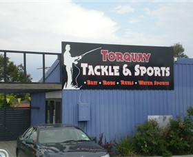 Torquay Tackle & Sports Logo and Images