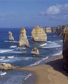 Twelve Apostles Marine National Park Logo and Images