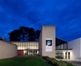 Monash Gallery of Art Logo and Images