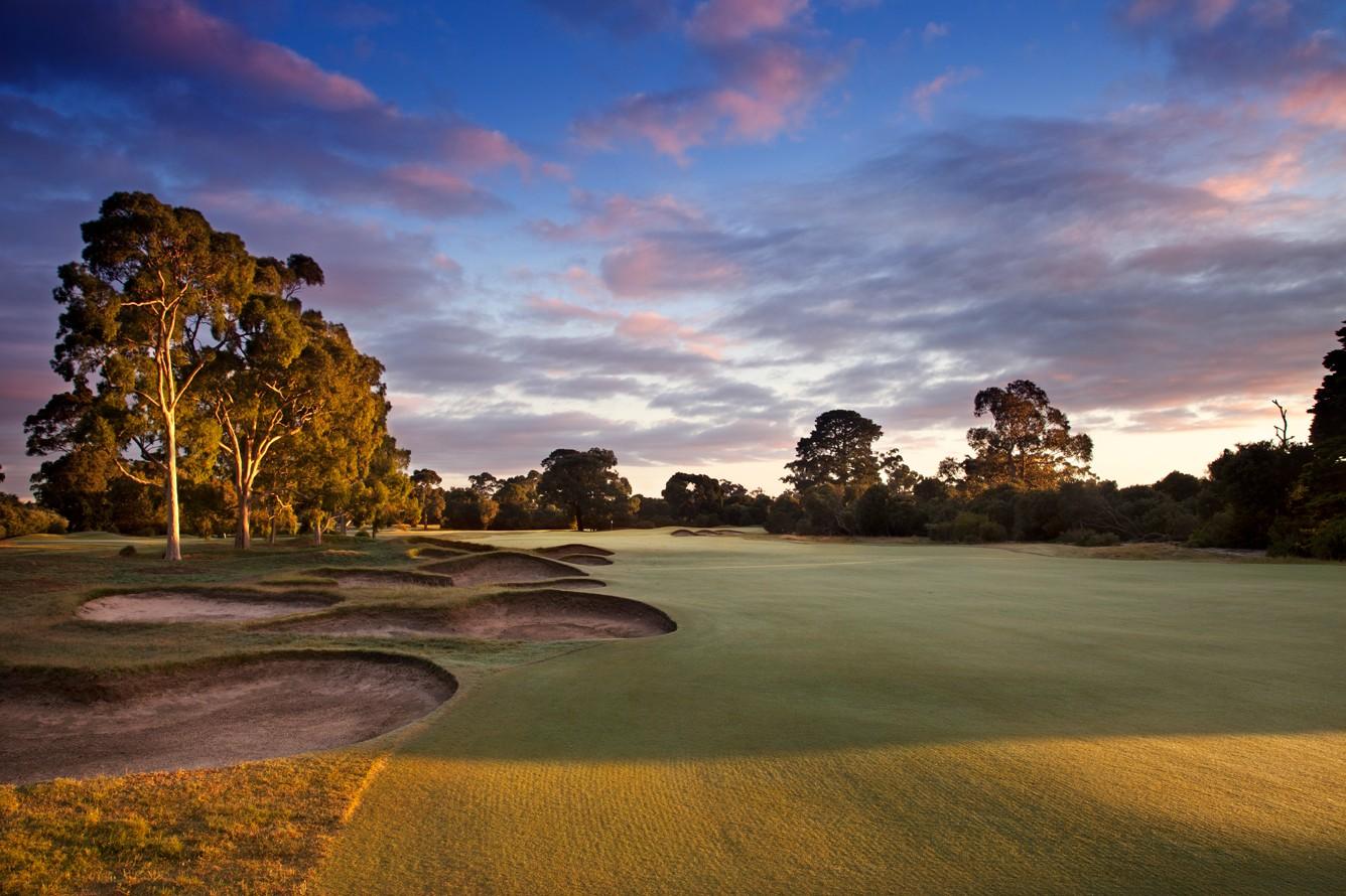 Kingston Heath Golf Club Logo and Images