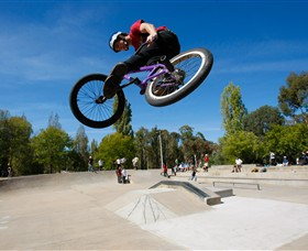 James Scott Memorial Skate Park Logo and Images