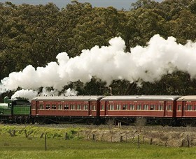 Steamrail Victoria Logo and Images
