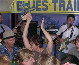 The Blues Train Logo and Images