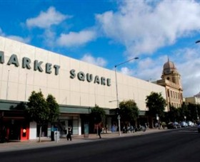 Market Square Shopping Centre Logo and Images