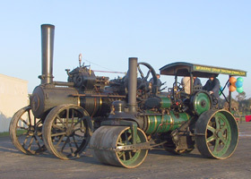 Melbourne Steam Traction Engine Club Logo and Images