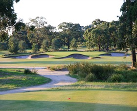 Huntingdale Golf Club Logo and Images
