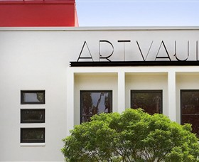 The Art Vault Logo and Images