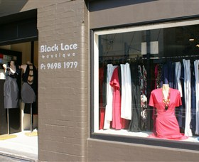 Black Lace Logo and Images